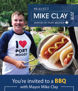 BBQ with Mayor Mike Clay, Port Moody
